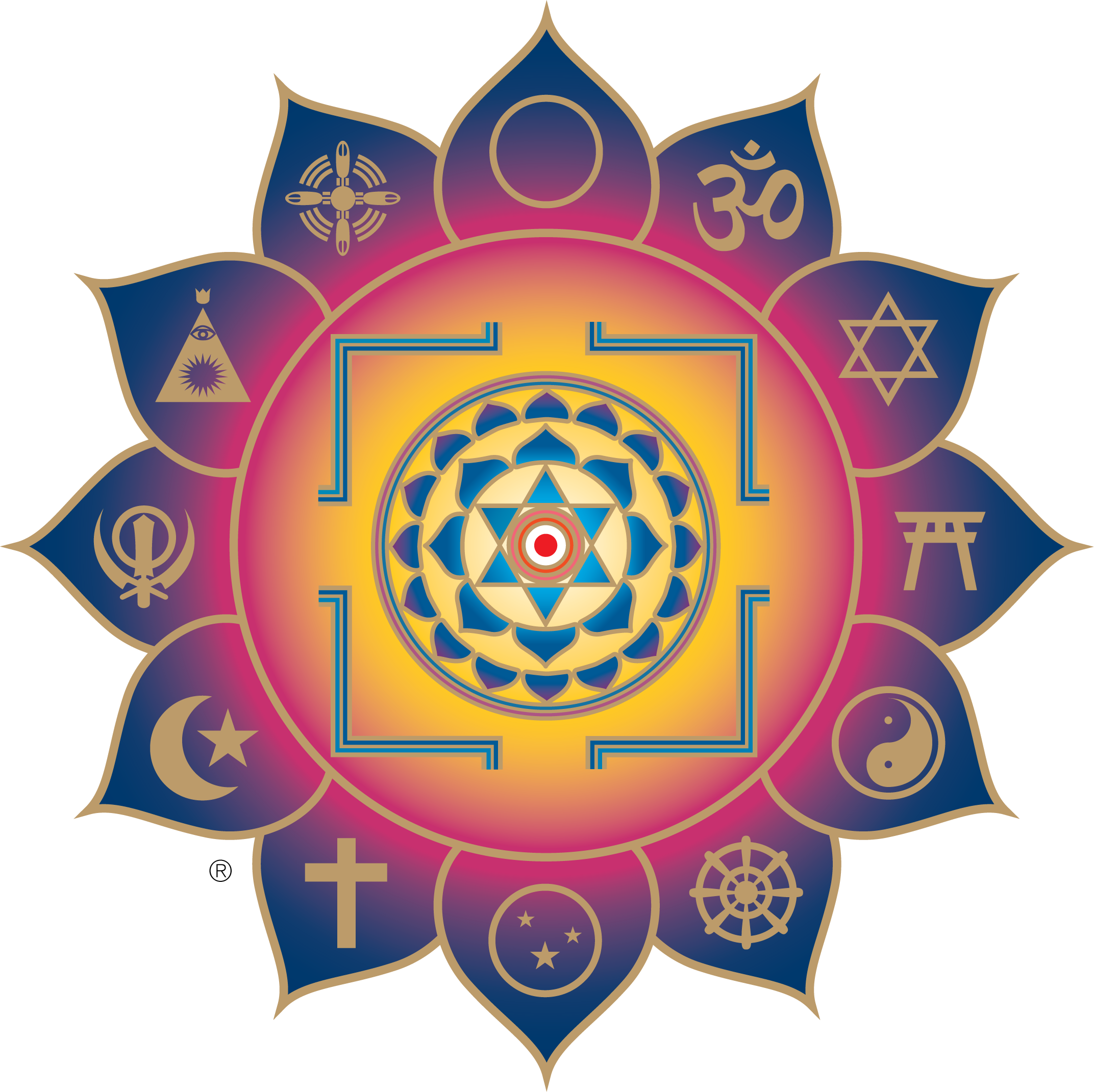 Integral Yoga Interfaith Yantra